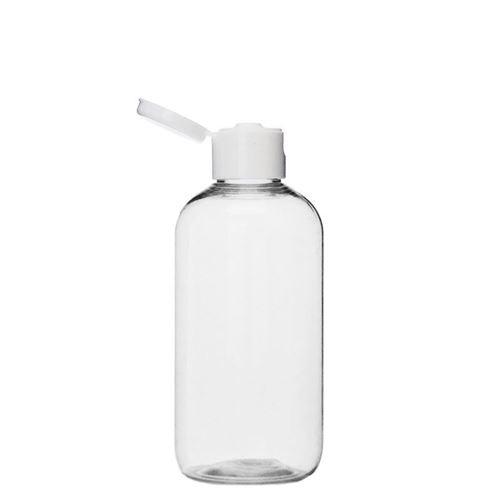 """200ml PET-flaske """"Boston"""", med klap"""