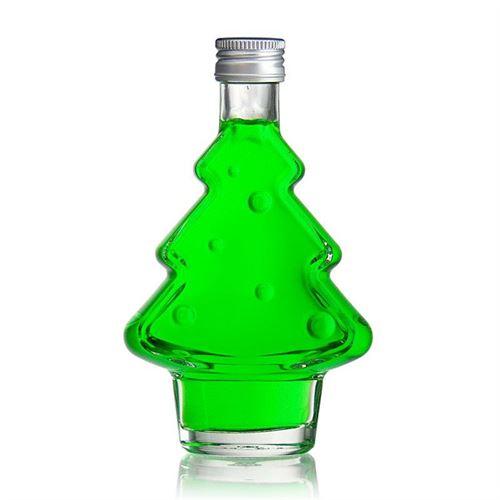 """200ml Bottiglia Albero di Natale """"Happy X-Mas"""""""