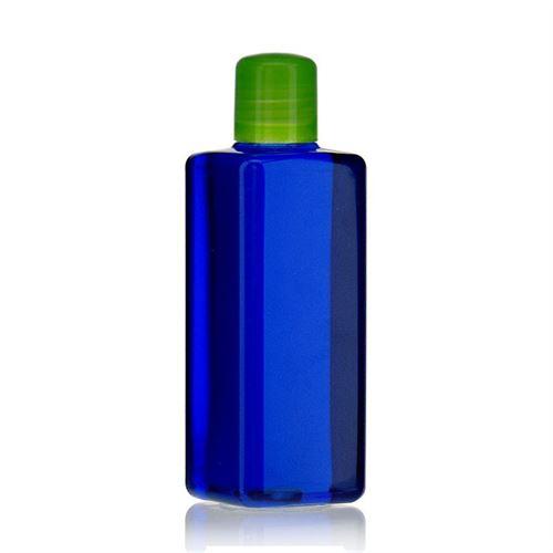 """200ml Bottiglia PET """"Carlo"""" verde con chiusura a spruzzo"""