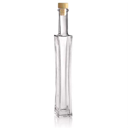 """200ml Bottiglia in vetro chiaro """"Koko"""""""