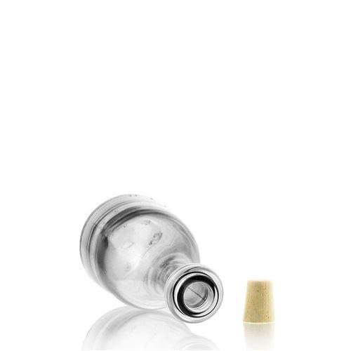"""200ml Bottiglia in vetro chiaro """"Rustica"""""""