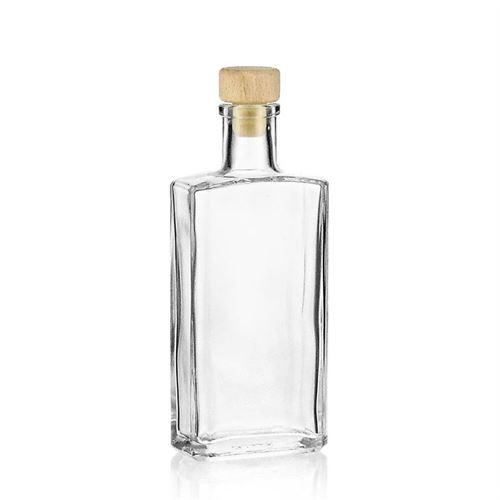 """200ml Bottiglia in vetro chiaro """"Shiny"""""""