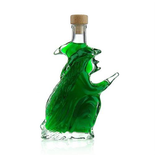 """200ml Bottiglia in vetro chiaro """"Strega"""""""
