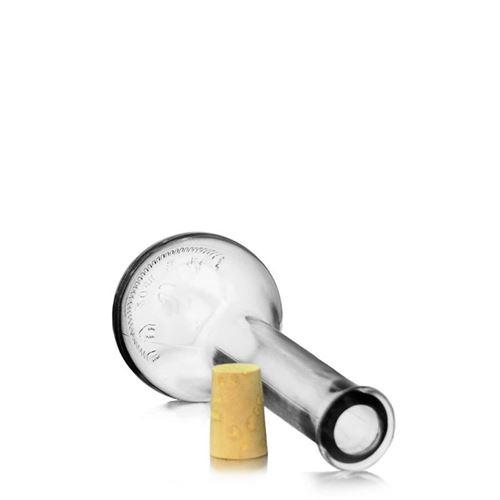 """200ml Bottiglia in vetro chiaro """"Tulipano"""""""