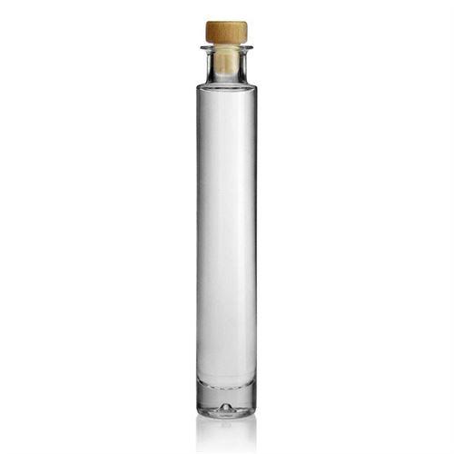 "200ml Bottilglia in vetro chiaro ""Linus"""