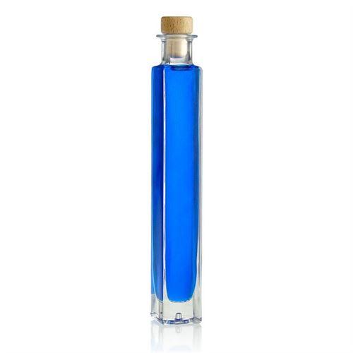 """200ml Bottilglia in vetro chiaro """"Tommy"""""""