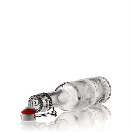 """200ml Klarglasflasche """"Opera"""" mit Bügelverschluss"""