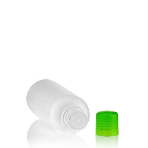 """200ml HDPE-flaske """"Tuffy"""" grøn med sprøjteindsats"""