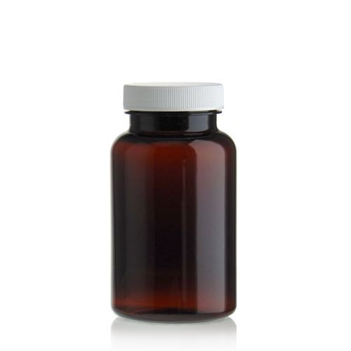 200ml PET packer-fles bruin