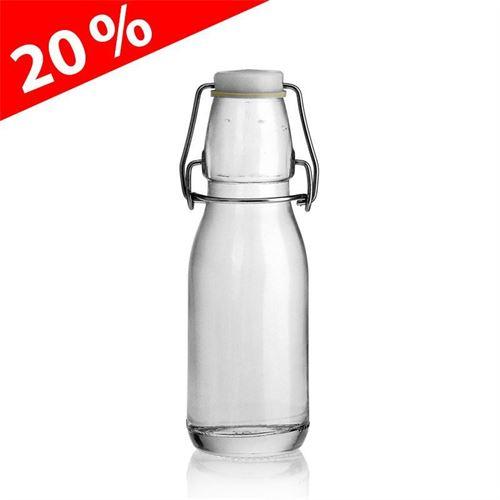 "200ml beugelsluiting fles ""Konrad"""