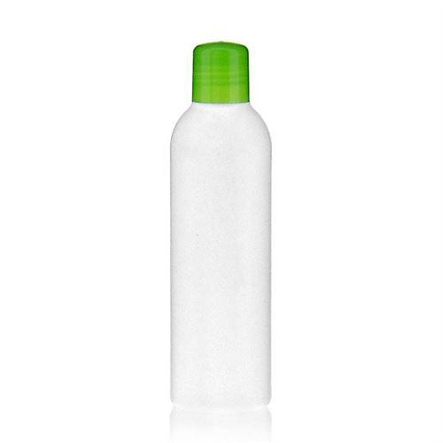 """200ml bottiglia HDPE """"Tuffy"""" verde con chiusura a spruzzo"""