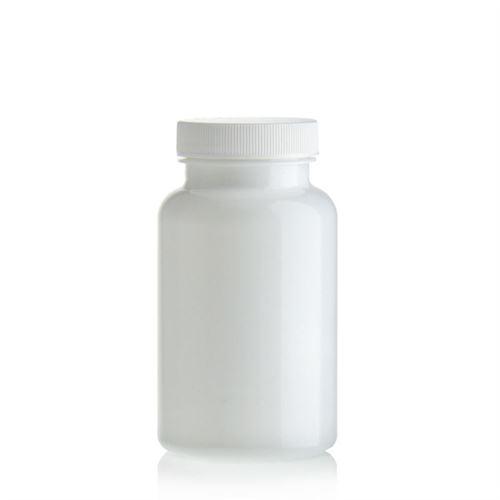 """200ml bottiglia PET """"Packer"""" bianco con chiusura originale"""