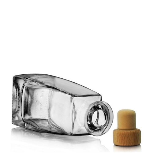 """200ml bottiglia in vetro chiaro """"Timmy"""""""