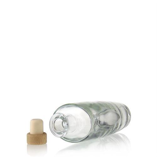 "200ml bottiglia in vetro chiaro ""Vanessa"""
