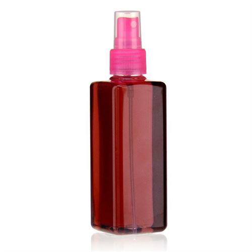 """200ml bouteille PET """"Karl"""" rose avec tête de pulvérisation"""