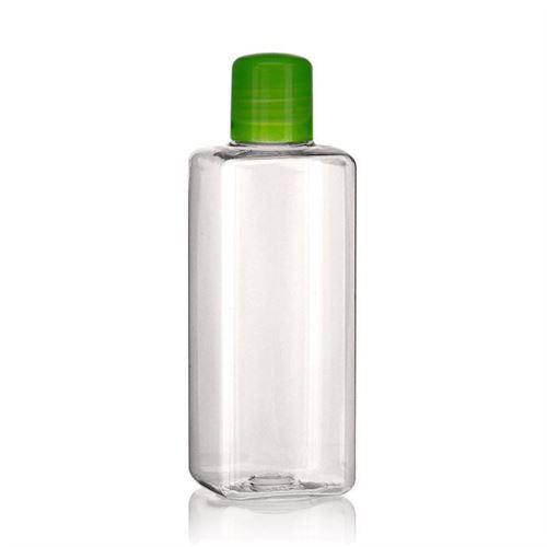 """200ml bouteille PET """"Karl"""" vert avec doseur"""