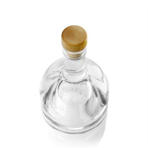 """200ml bouteille en verre clair """"kato"""""""