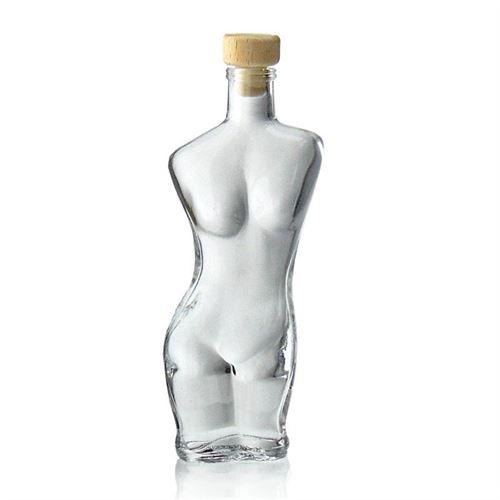"""200ml bouteille en verre avec motif """"Eva"""""""