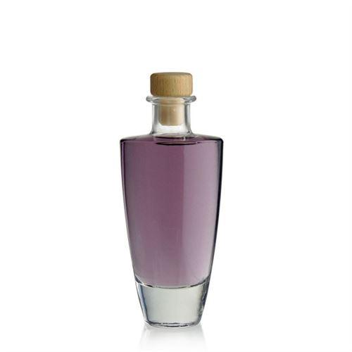 "200ml bouteille en verre clair ""Vanessa"""