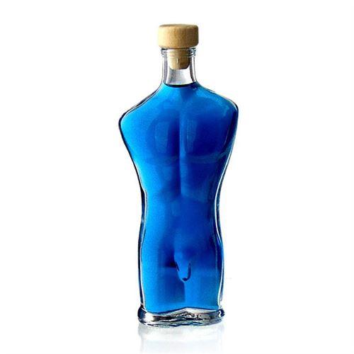 "200ml bouteille motif verre clair ""Adam"""