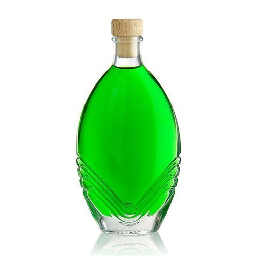 """200ml bouteille en verre clair """"Florence"""""""