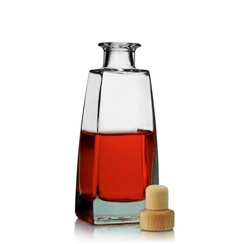 "200ml bouteille en verre clair ""Timmy"""