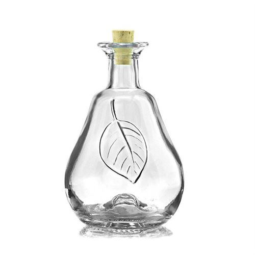 "200ml clear glass bottle ""Pear"""