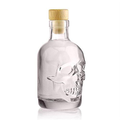 """200ml flaske """"Dødningehoved"""""""