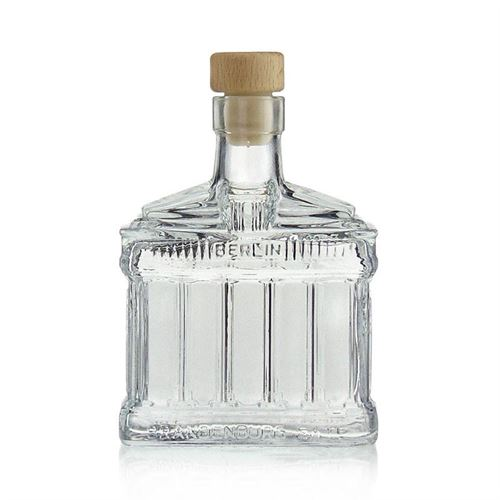 "200ml glasflaske ""Brandenburger Tor"""