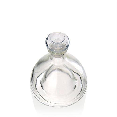 "200ml flaske i klart glas ""Donna"""