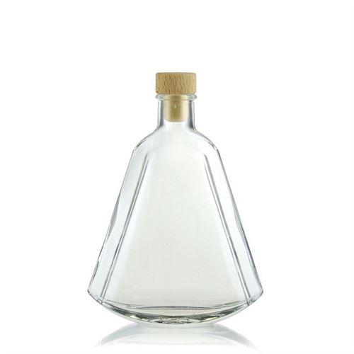 "200ml flaske i klart glas ""Maurizio"""