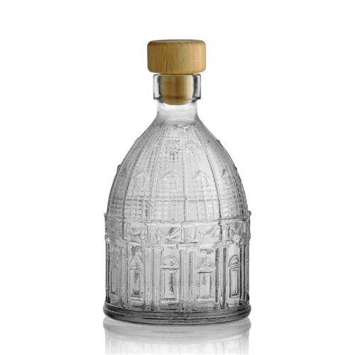 """200ml flaske i klart glas """"Peterskirken"""""""