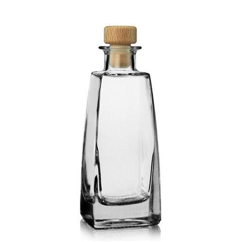 "200ml flaske i klart glas ""Timmy"""