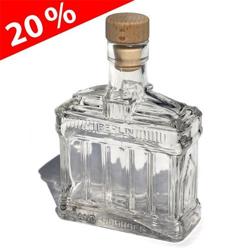 "200ml glazen fles ""Brandenburgse poort"""