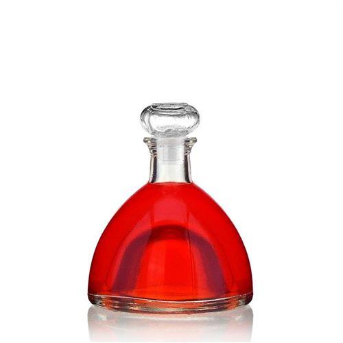 """200ml glazen fles clear """"Donna"""""""