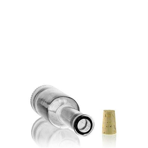 "200ml glazen fles clear ""Nepera"""
