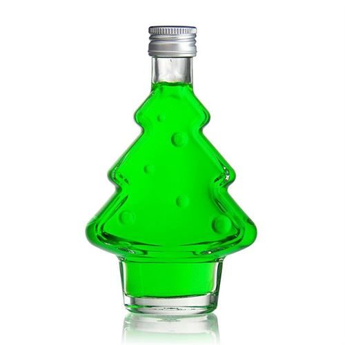 "200ml kerstboom fles ""Happy X-Mas"""