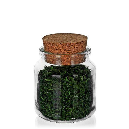 205ml ronde pot met scherpe kurk