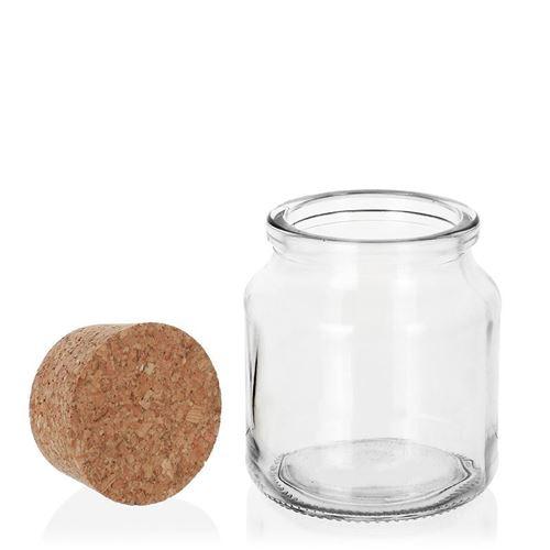 205ml rundes Korkenglas