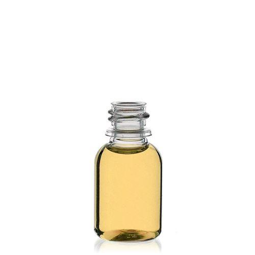 """20ml PET-Flasche-klar """"Easy Living"""" mit Originalitätsverschl."""