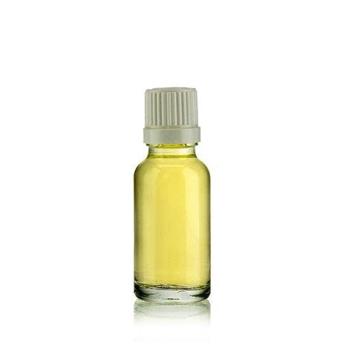 20 ml bottiglia medica trasparente con contagocce a caduta