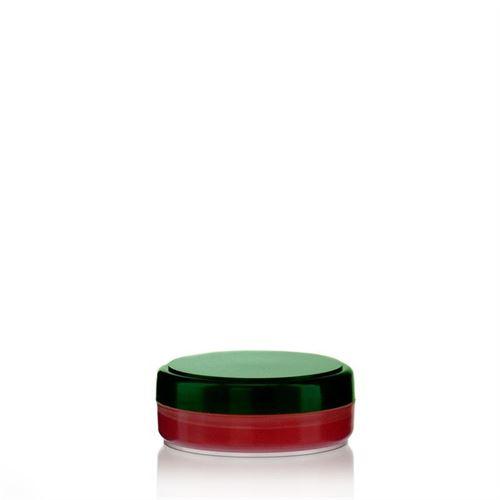 "20ml PP jar ""Liberty"" natural/green"