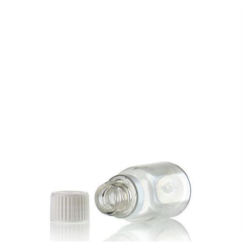 """20ml botella PET """"Easy Living"""" transparente con cierre original"""