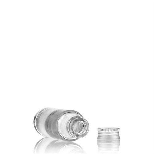"20ml bottiglia in vetro chiaro ""Ronda"""