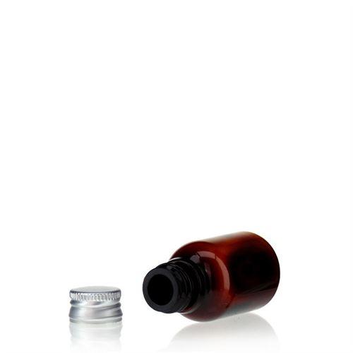 "20ml brun PET-flaska ""Easy Living"""