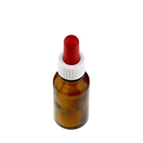20ml brun medicinflaske, med pipette