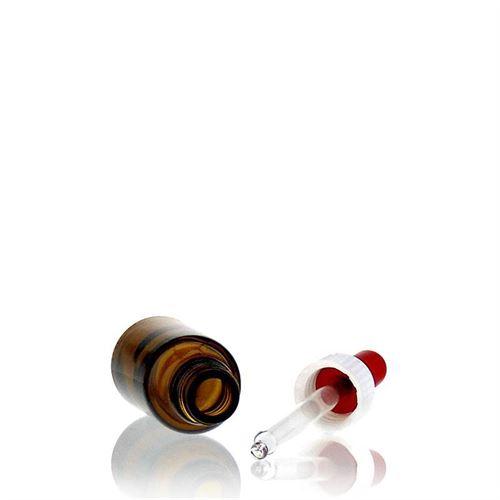 20ml flacon de médecine brun avec pipette