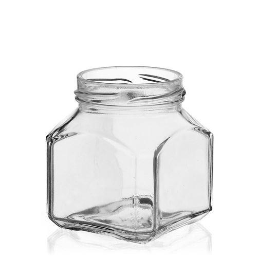 """212ml rechteckiges Designerglas """"Mailand"""""""