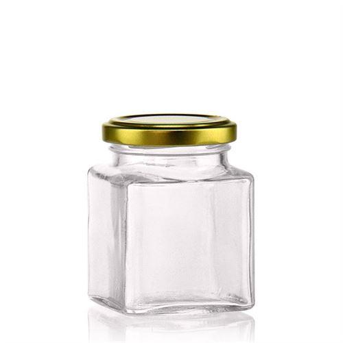 "212ml firkantet designerglas ""Roma"""
