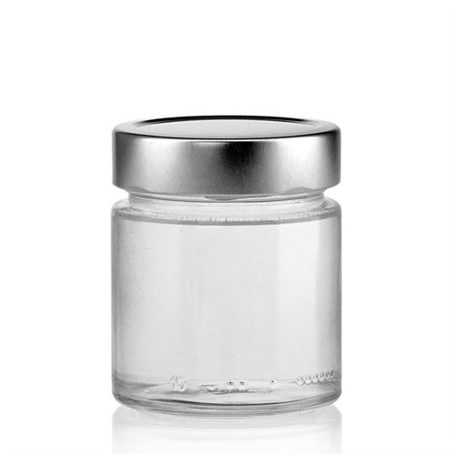 "212ml round design jar ""Albatros"""